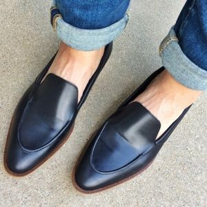 83f01d24582 Everlane Shoes - EVERLANE Modern Loafer Black Leather